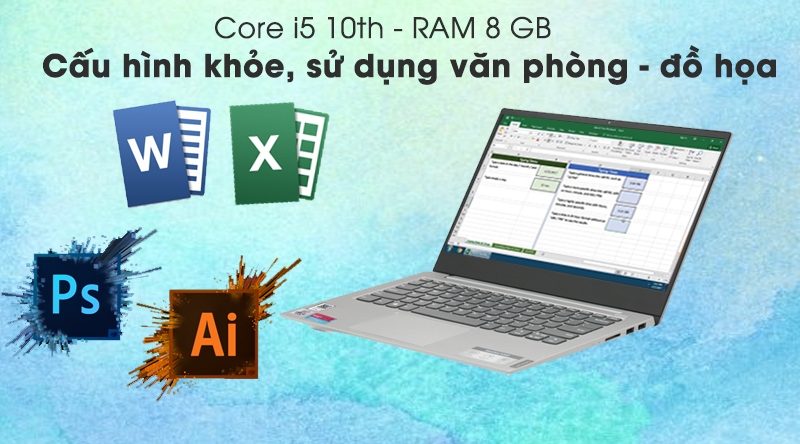 Laptop Lenovo IdeaPad S340 14IIL - AT7 Cloud