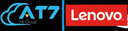 logo at7 và lenovo